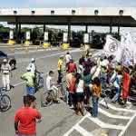 Protesto na Castelo Branco tem pouca adesão