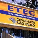 Inscrições da Etec para o cadastro de professores em Parnaíba