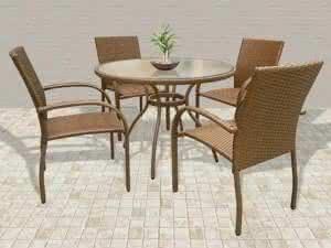 Modelos Mesa Redonda - 4 e 6 Cadeiras (12)